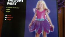 Girls Twilight Fairy Costume Size Small Dress and Wings Nwt