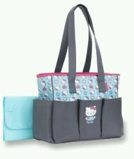 NEW HELLO KITTY BY SANRIO BABY INFANT GIRL 6-POCKET TOTE DIAPER BAG