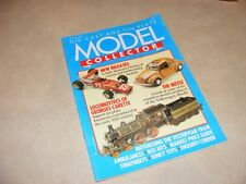 Die-Cast & Tin Plate Model Collector Magazine, 1987, Features VW Beetle