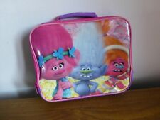 Trolls poppy school kids lunchbox lunch bag
