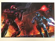 HALO 3,  AUTHENTIC LICENSED 2007 MICROSOFT XBOX 360  POSTER