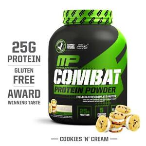 MusclePharm Combat Protein Powder, Essential Whey Protein Powder, Isolate Whey