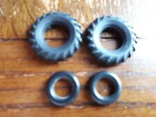 Matchbox Kingsize set of tractor tyres (x4 tyres) (A)
