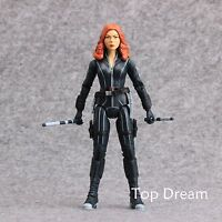 "The Avengers Civil War Captain America 3 Black Widow Action Figure 7"" Toy Doll"