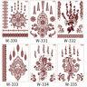 EB_ AF_ Henna Waterproof Geometric Lace Temporary Tattoo Sticker Body Art Mandal