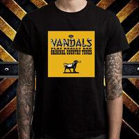 The Vandals Punk Rock Band Album Men's Black T-Shirt Size S to 3XL