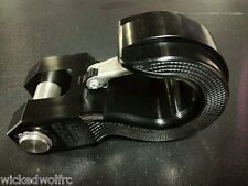 MONSTER HOOK MH-SW1B Black Aluminum Monster Swivel Hook for Trailer Hitch