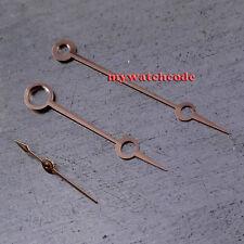 rose golden steel hands for 6498 6497 st36 hand winding movment 25