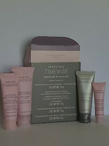 "Mary Kay TimeWise Miracle Set 3D ""The Go Set"" ~ Combination to Oily Skin."