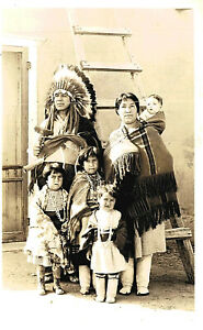 RPPC-Tafoya Indian Family of 6