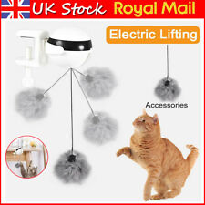 More details for electric automatic lifting cat ball toy interactive kitty pet cat ball teaser uk