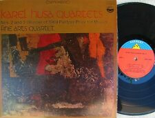 Fine Arts Quartet ORIG US LP Karel Husa Quartets Nos 2 & 3 Everest '71 Classical