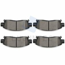Centric Front Rear Metallic Brake Pads 2SET For Buick Enclave