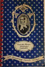 FREDRIKA BREMER OKTOBERFEST COOKBOOK 75th ANNIVERSARY UPSALA COLLEGE #20400