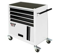 Portable Rolling Steel Cabinet Tool Storage Chest with 4 Drawers Garage Rollcab
