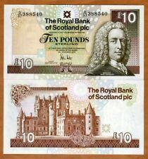 Scotland Royal Bank, 10 pounds, 2010, P-353c, UNC