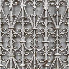 Muriva Iron Trellis Pattern Wallpaper Modern Ornate Photographic Gate L14708