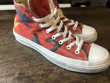 CONVERSE DAMIEN HIRST PROJECT RED CT HI CHUCK TAYLOR US10.5 2010