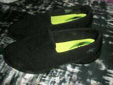 LADIES BLACK SKETCHERS GOGA MAX SIZE 8