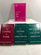 Lot of 4 Vintage Daily Study Bile Series, Apostles, John, Jude, Mark, Corinthian
