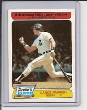 1985 Drakes Big Hitters #23 - Lance Parrish - Tigers
