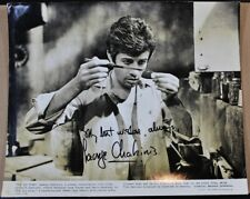 GEORGE CHAKIRIS Signed Vintage Photo - The Big Cube - Oversized