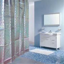 Convex Feeling Bathroom Shower Curtain Liner Mildew Resistant Rustproof 55*72CM