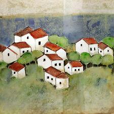 Ingeborg Dreyer Dorf I Poster Kunstdruck Bild 70x70cm