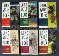 Lot of 6 - Dark Horse Comics Lone Wolf and Cub TPBs #1 2 4 9 11 18 1st Editions