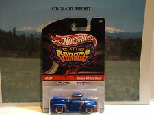 Hot Wheels Wayne's Garage Blue Custom '56 Ford Truck CHASE