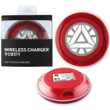 Iron Man Limited Edition Wireless Charger Charging Pad for GALAXY S6 Edge G9250