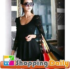Unbranded Lace Cocktail Floral Dresses for Women