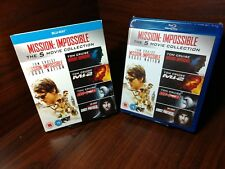 Mission Impossible 5 Movies Collection(Bluray,REGION FREE)Slipcover-NEW-Free S&H