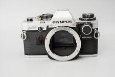 Olympus OM10 OM-10 35mm Film Camera, Silver w/ Manual Adapter