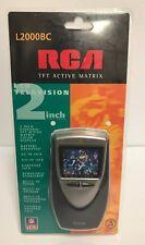 RCA L2000BC TFT ACTIVE MATRIX HAND-HELD PORTABLE LCD Television TV VHF-UHF 1998