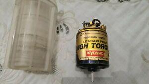 Vintage Kyosho Le Mans pro high torque gold Motor