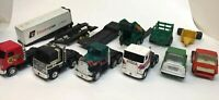 Vintage Tonka, Buddy L, Remco Semi Trailer Cabs & Trailers, Nice toy lot, 12 pc!