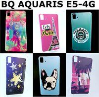 Fundas para Bq Aquaris E5-4G Diferentes dibujos a elegir (Envío mismo día)