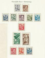 Germania, Occupazione Alleate WURTTEMBERG 1947