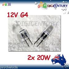 20W 12V G4 HALOGEN GLOBE BULB GARDEN HOME 2 pcs