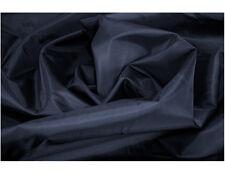BLACK Tessuto Impermeabile Luce Barca Cuscino Copertura materiale 4oz Nylon 10m G