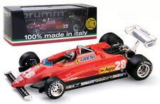 Brumm R288-CH Ferrari 126C2 Turbo Italian GP 1982 - Mario Andretti 1/43 Scale
