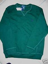NEW POLO SWEATSHIRT CLASSIC JACKET YOUTH M 12 14 GREEN