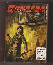 RANGERS - Album relié n°25 - n°81 à 84 - imperia 1972
