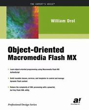 NEW - Object-Oriented Macromedia Flash MX by Drol, William