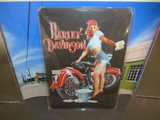 Harley Davidson metal sign 20x30 cms Decorate your room,bar,garage,mancave