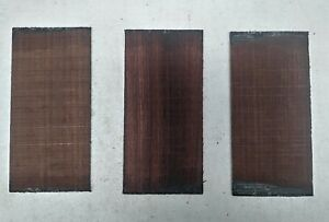 (3) Lot De 3,Palissandre Noyer / Plaques Tête /Revêtement /Peghead Guitar/ Banjo