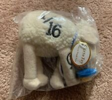 SERTA counting Sheep Baby 1/16 Plush Curto Toy with Pacifier Stuffed Animal New