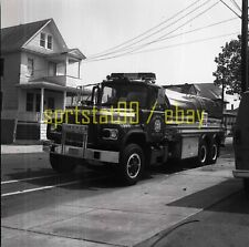 Indian Mills IMVFC Mack Fire Engine #2816 - Vintage Fire Truck Negative