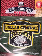 Official NCAA College Football Dollar General Bowl 2016/17 Patch Ohio, Troy